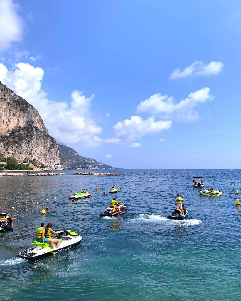 jet ski randonnée groupe beaulieu watersports base nautique